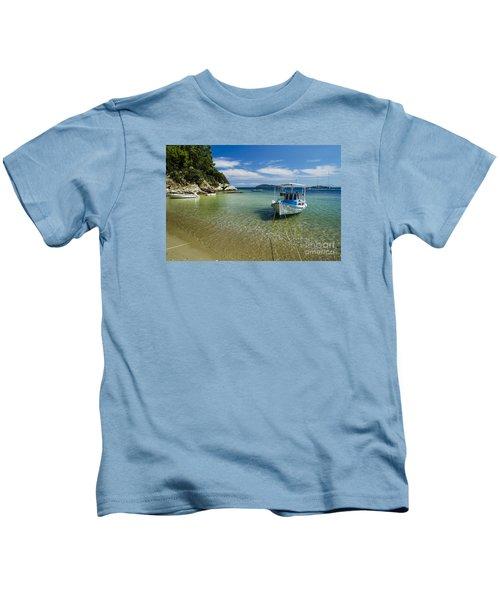 Colorful Boat Kids T-Shirt