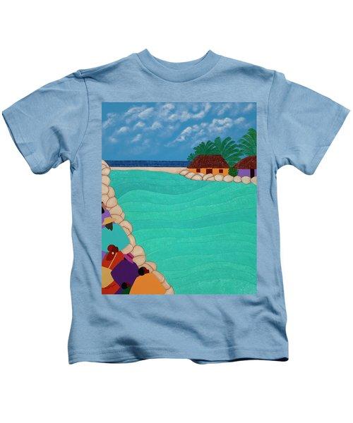 Curacao Lagoon Kids T-Shirt