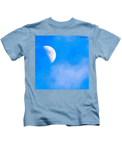 Finally Some #bluesky And The #moon Kids T-Shirt