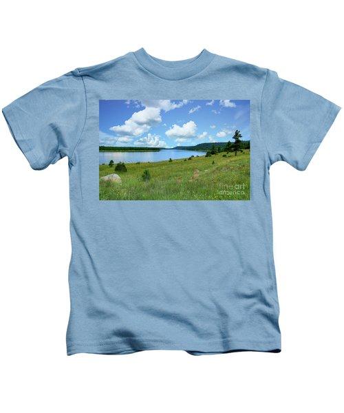 Lake Mary Flagstaff Kids T-Shirt