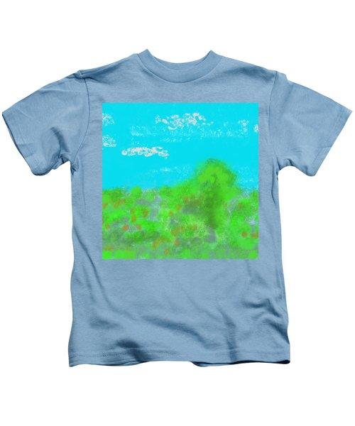 Landscapes Of The Past Kids T-Shirt