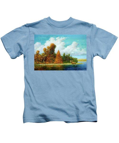 Moose Country Kids T-Shirt