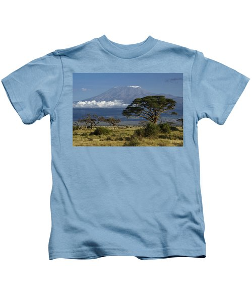 Mount Kilimanjaro Kids T-Shirt