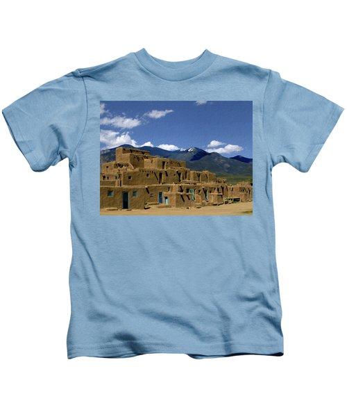 North Pueblo Taos Kids T-Shirt