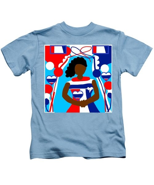 Our Flag Of Freedom 2 Kids T-Shirt