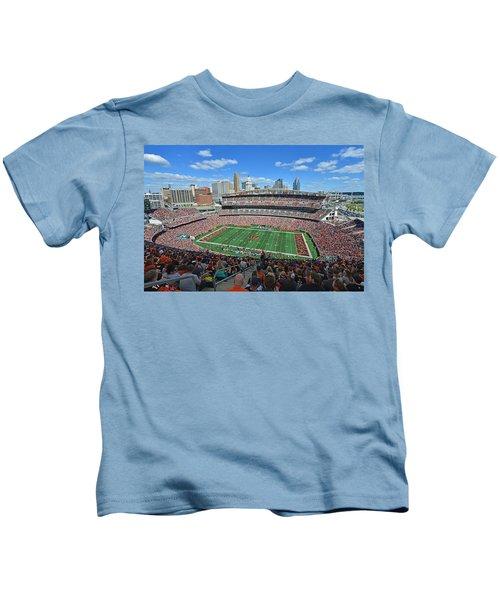 Paul Brown Stadium - Cincinnati Bengals Kids T-Shirt