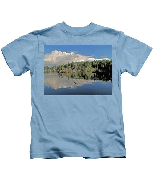 Pause And Reflect Kids T-Shirt