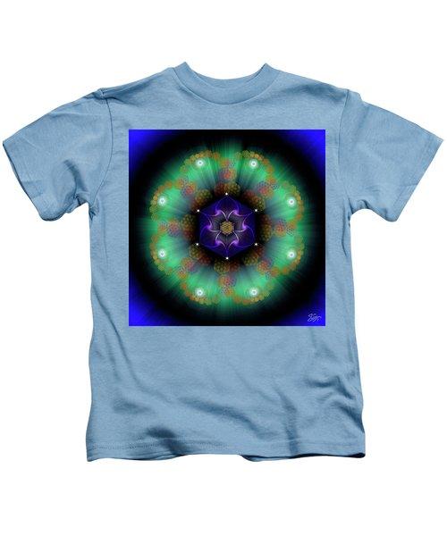 Sacred Geometry 638 Kids T-Shirt
