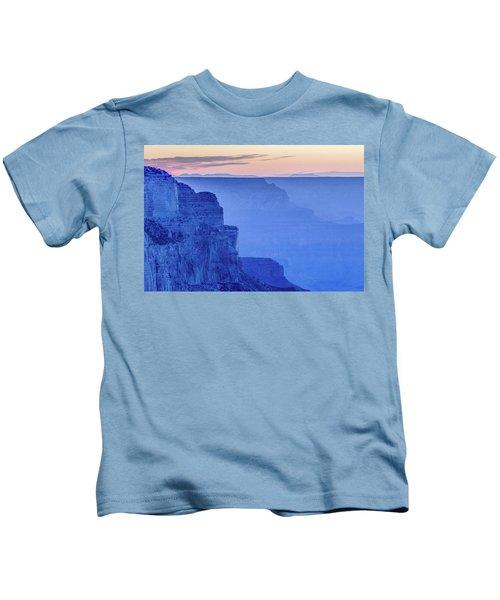 Sunset At South Rim Kids T-Shirt