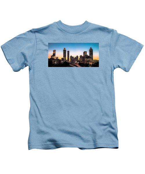 Sunset In Atlanta  Kids T-Shirt