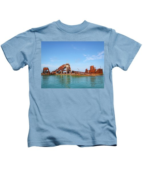 Tangalooma Wrecks Kids T-Shirt