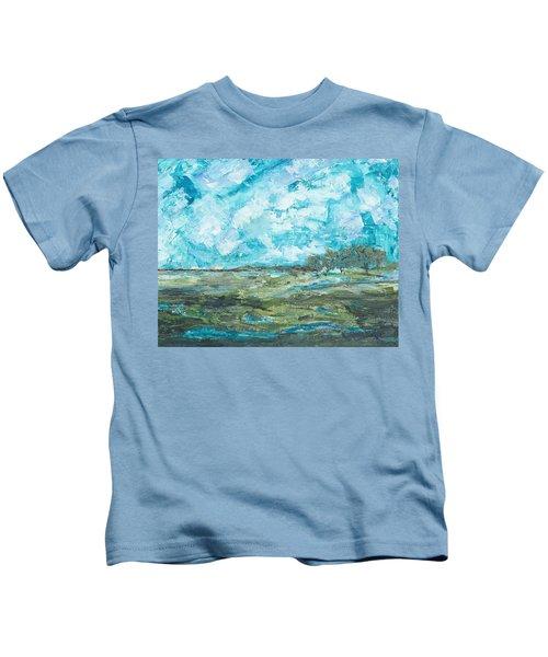 Toward Pinckney Island Kids T-Shirt