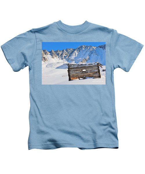 Winter At The Boston Mine 3 Kids T-Shirt