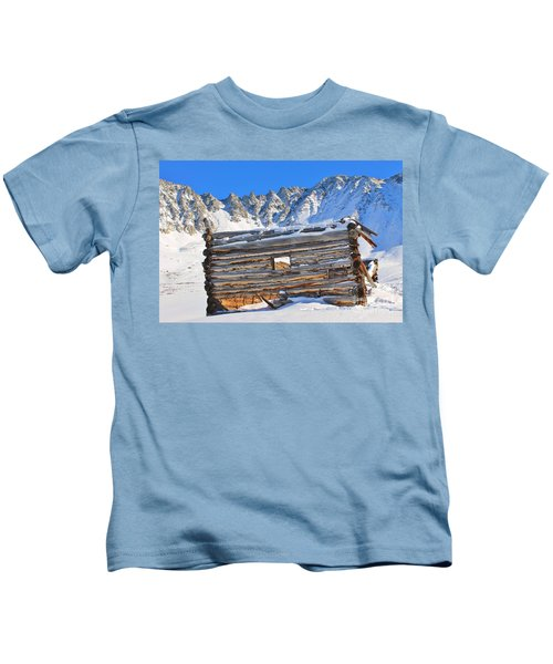 Winter At The Boston Mine 4 Kids T-Shirt