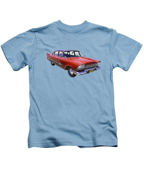1958 Plymouth Savoy Classic Car Kids T-Shirt