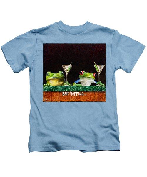 Bar Hopping... Kids T-Shirt
