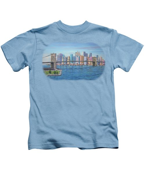 New York Brooklyn Bridge Kids T-Shirt