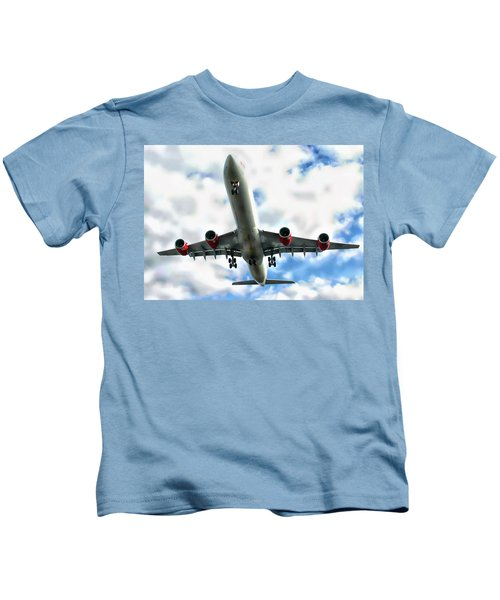 Passenger Plane Kids T-Shirt