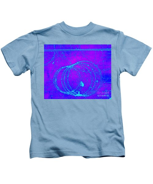 Positron Tracks Kids T-Shirt
