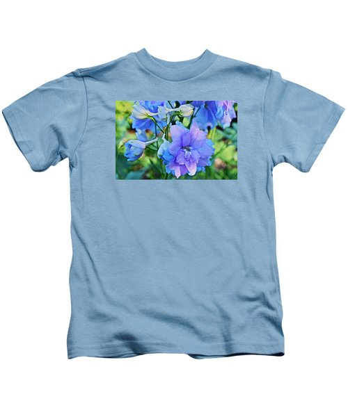 2015 Mid September At The Garden Larkspur 2 Kids T-Shirt
