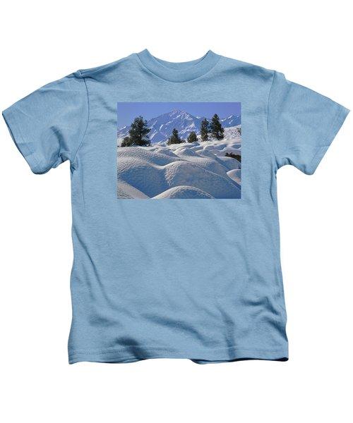 2m6402 Mt. Tom From Sherwin Grade Kids T-Shirt
