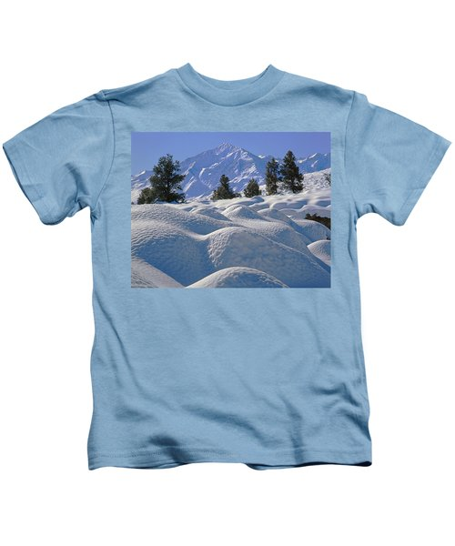 2m6402 Mt. Tom From Sherwin Grade Kids T-Shirt