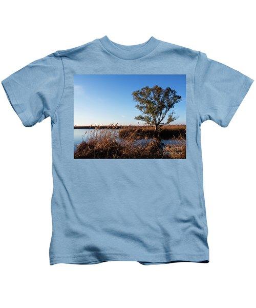 Sunrise In The Ditch Burlamacca Kids T-Shirt