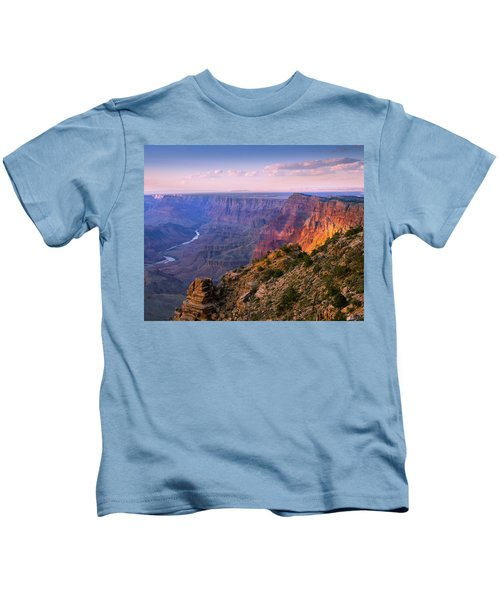 Canyon Glow Kids T-Shirt by Mikes Nature
