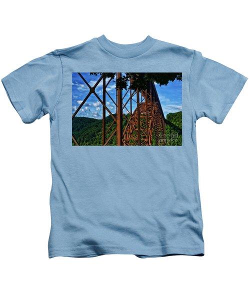 New River Gorge Bridge Kids T-Shirt