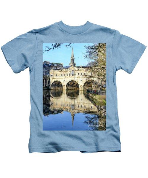 Pulteney Bridge, Bath Kids T-Shirt
