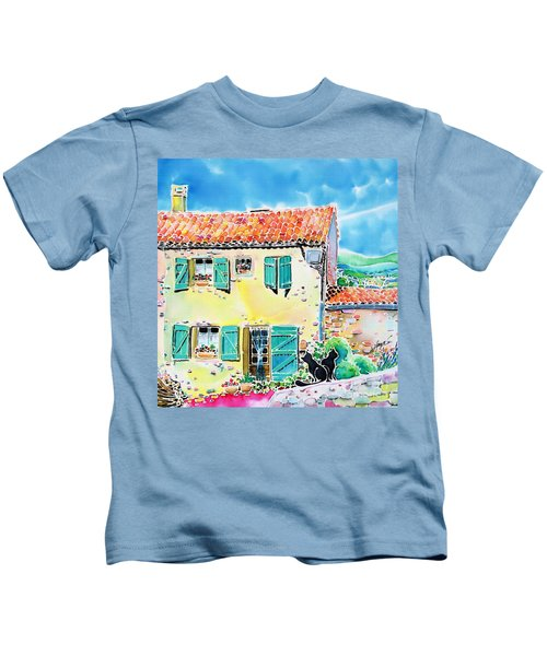 View Of Luberon Kids T-Shirt