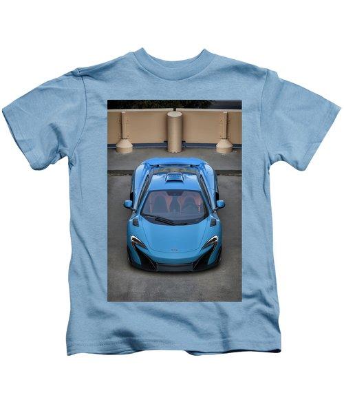 #mclaren #675lt #print Kids T-Shirt