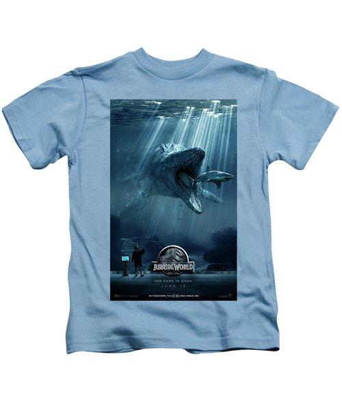 Jurassic World 2015  Kids T-Shirt