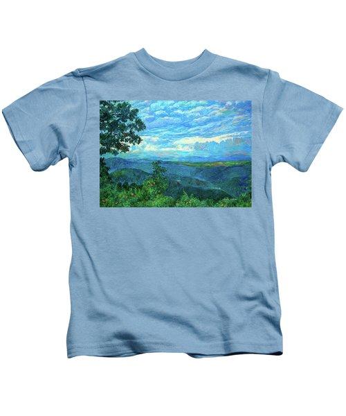 A Break In The Clouds Kids T-Shirt