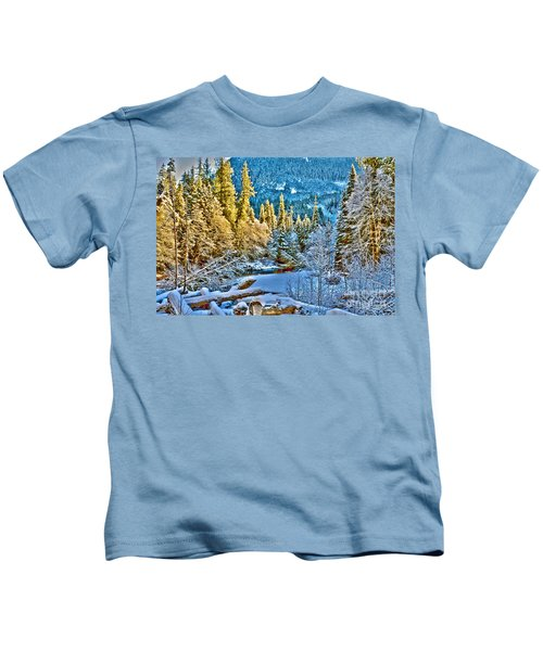 A River Runs Down It Kids T-Shirt