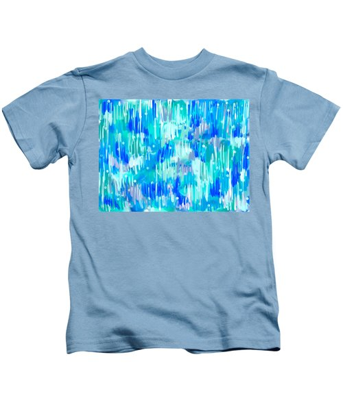 Abstract Winter Kids T-Shirt