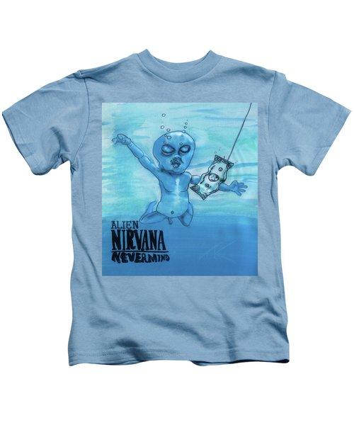 Alien Nevermind Kids T-Shirt