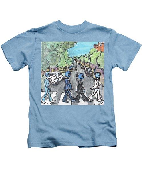 Alien Road Kids T-Shirt