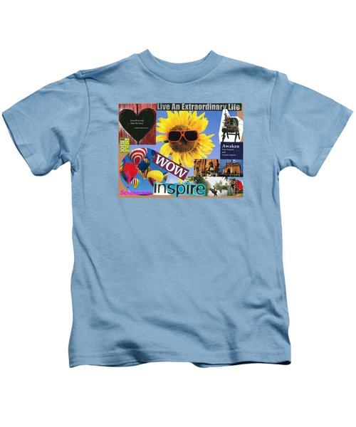 All Of Life Can Inspire Kids T-Shirt