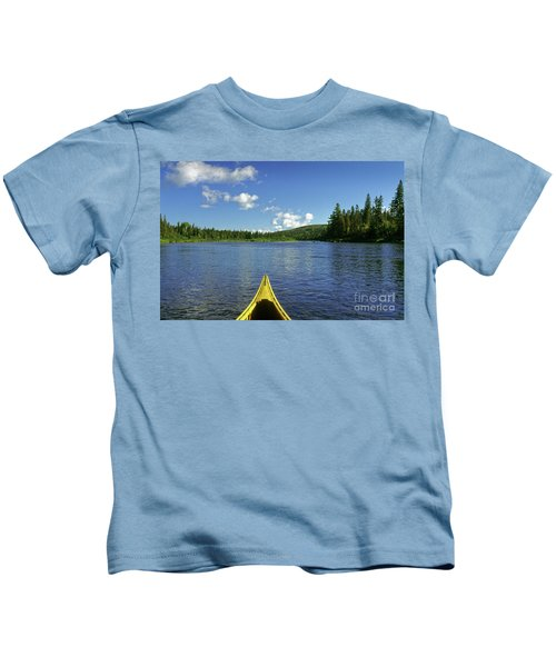Allagash River, Northern Maine, Usa Kids T-Shirt