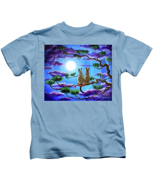 Alone In The Treetops Kids T-Shirt