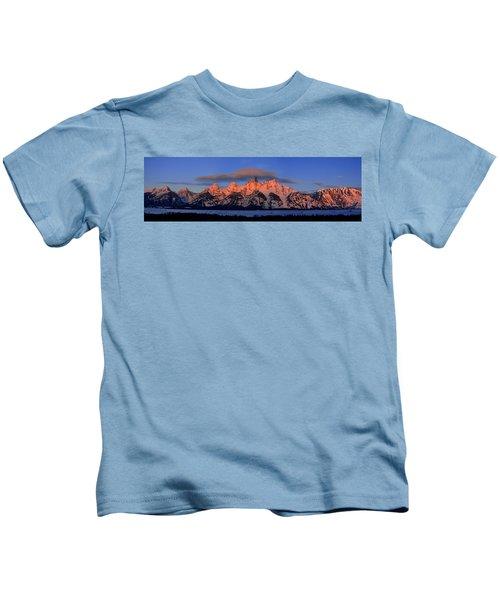 Alpenglow Tetons 2 Kids T-Shirt