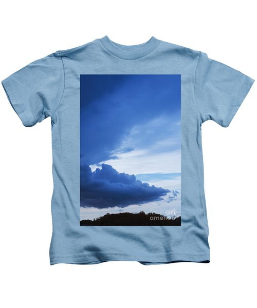 Amazing Blue Sky Vertical Kids T-Shirt