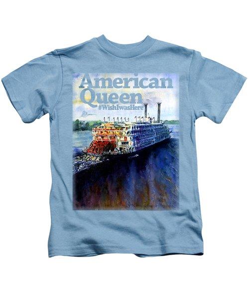 American Queen Shirt Kids T-Shirt