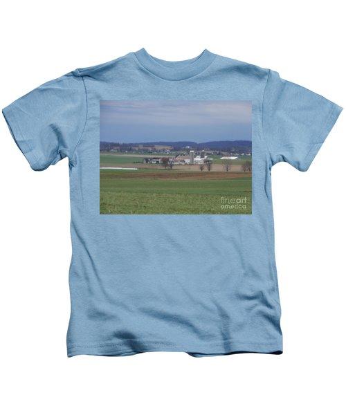 Amish Homestead 3 Kids T-Shirt
