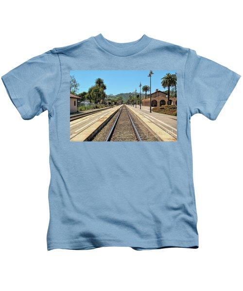 Amtrak Station, Santa Barbara, California Kids T-Shirt
