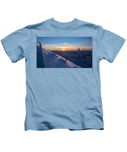 an evening on the Achtermann, Harz Kids T-Shirt