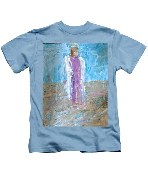 Angel With Confidence Kids T-Shirt