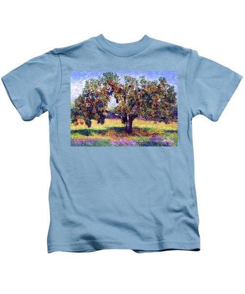 Apple Tree Orchard Kids T-Shirt
