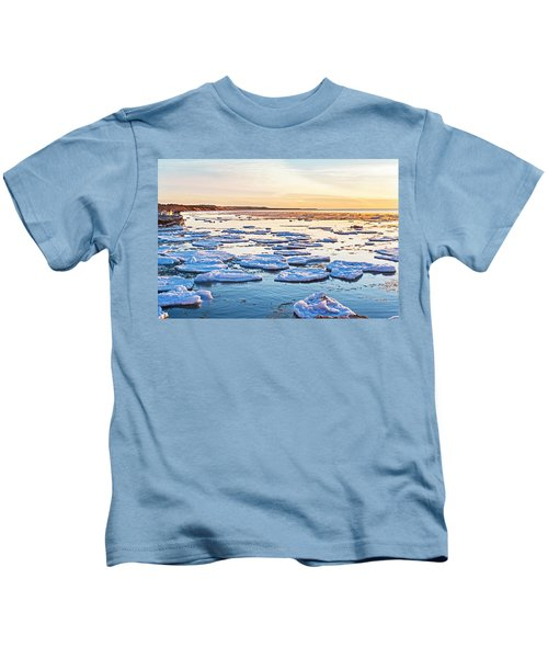 April Sunset Kids T-Shirt